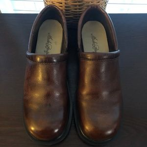 Made in Brazil Leather Clogs Size 10